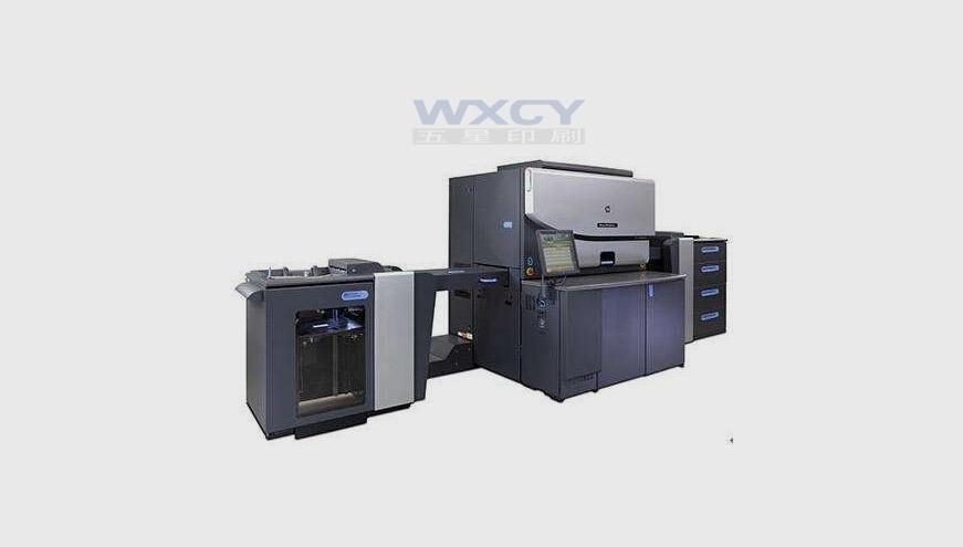 惠普Indigo大型数码印刷机亮相西安五星